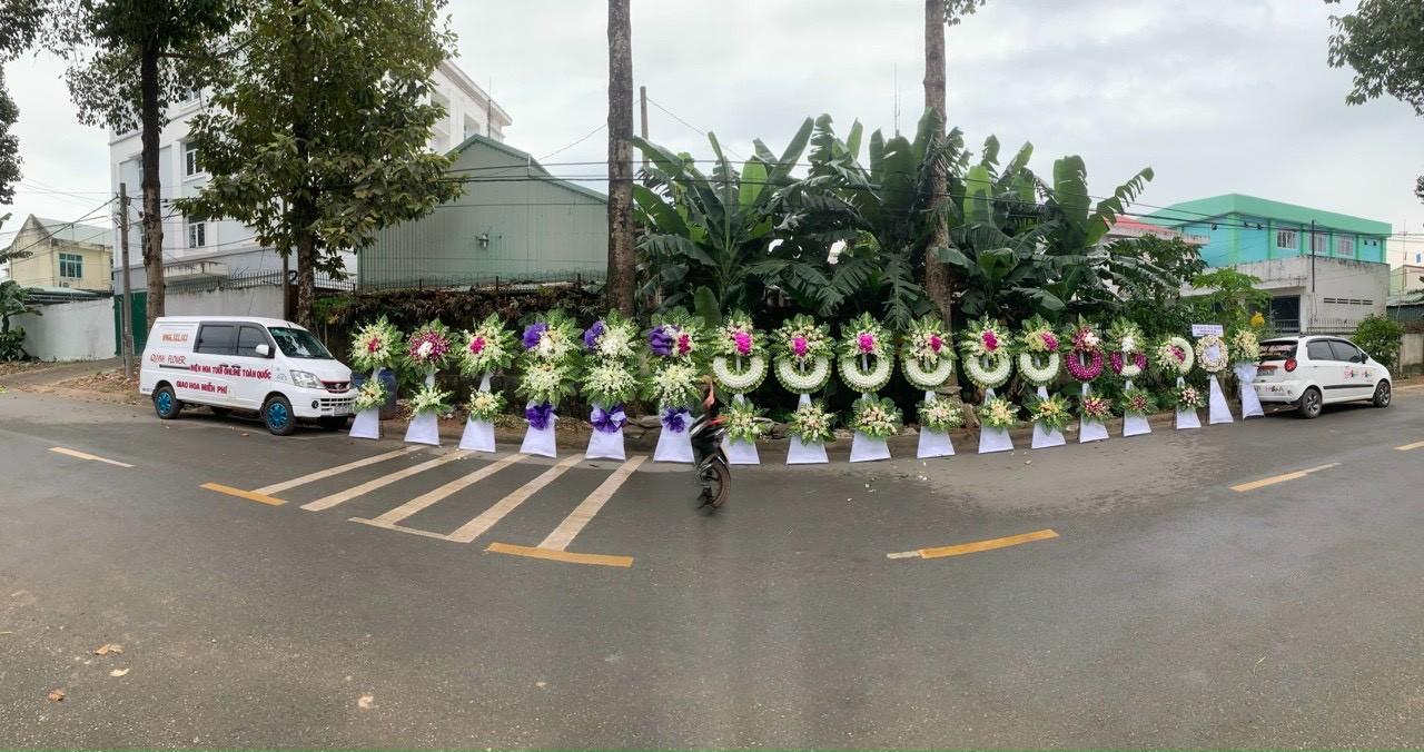 hoa đám tang Biên Hòa