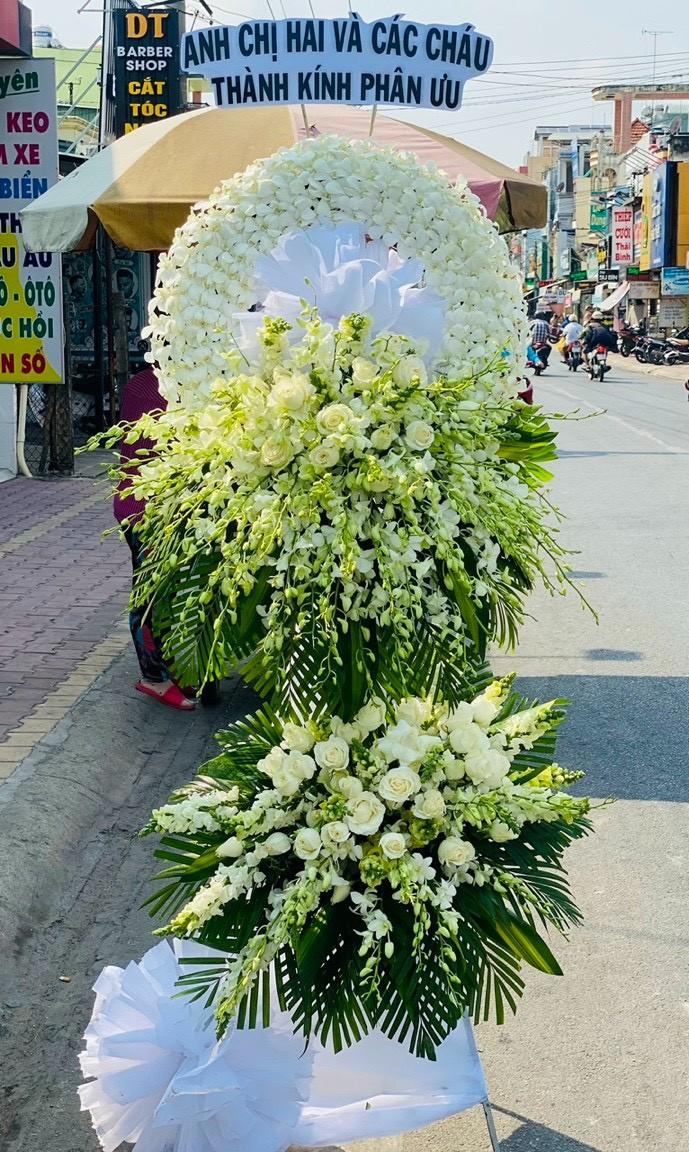 hoa đám tang