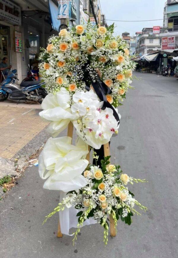 lãng hoa đám tang bến tre