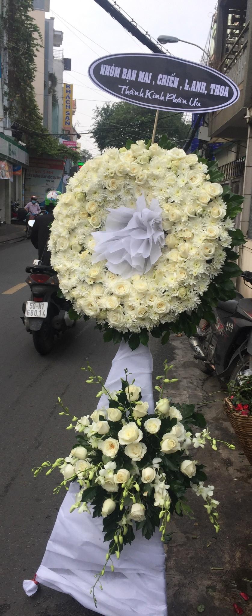 lãng hoa đám tang cần giuộc