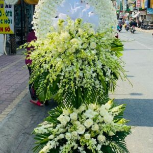 lẵng hoa đám tang cần thơ