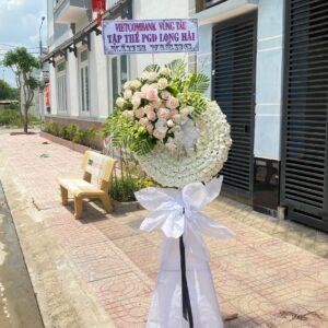 lãng hoa đám tang hố nai