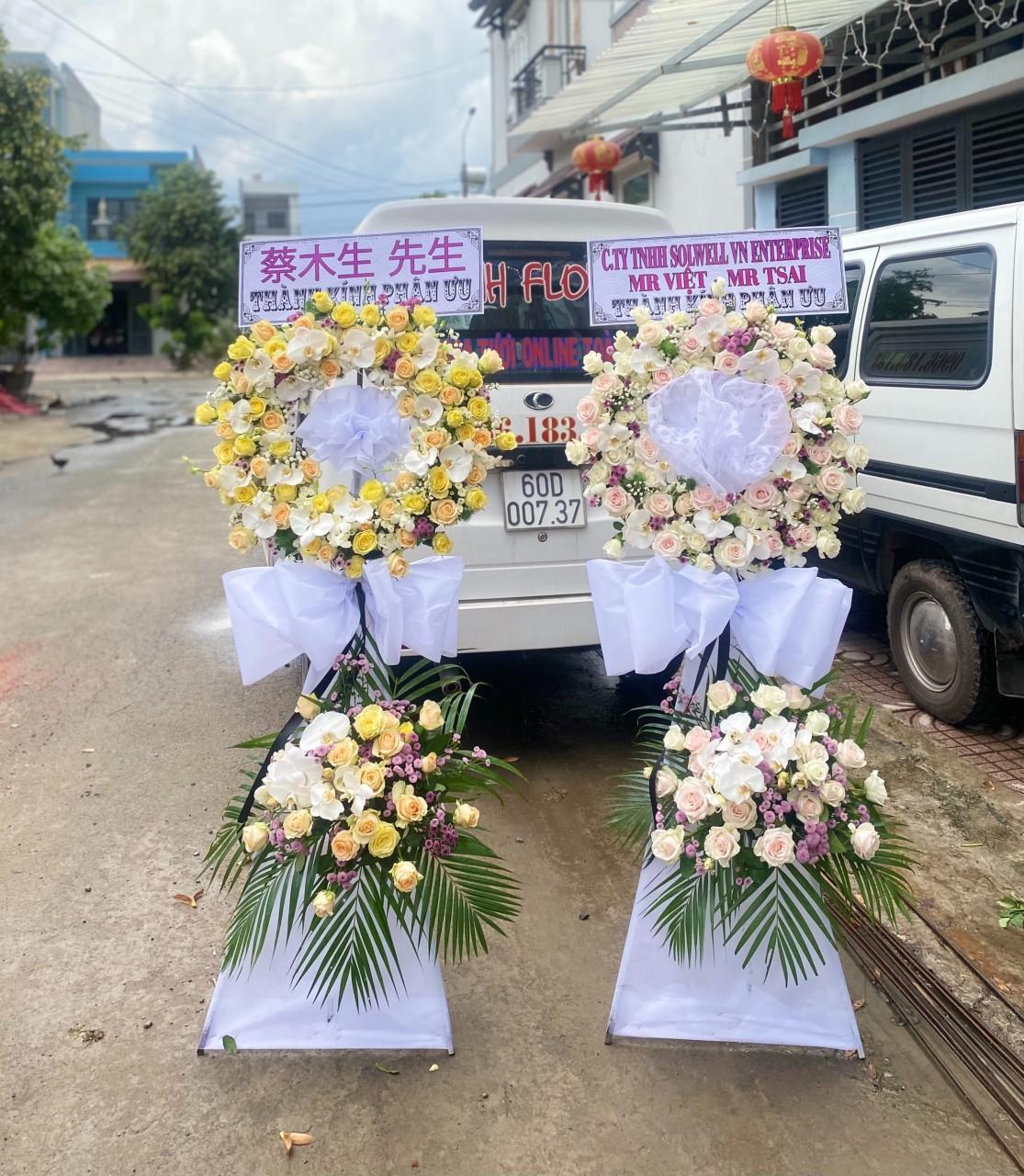 lãng hoa đám tang vĩnh long