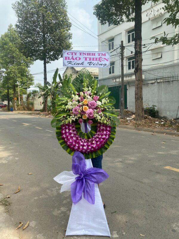 hoa đám tang châu phú
