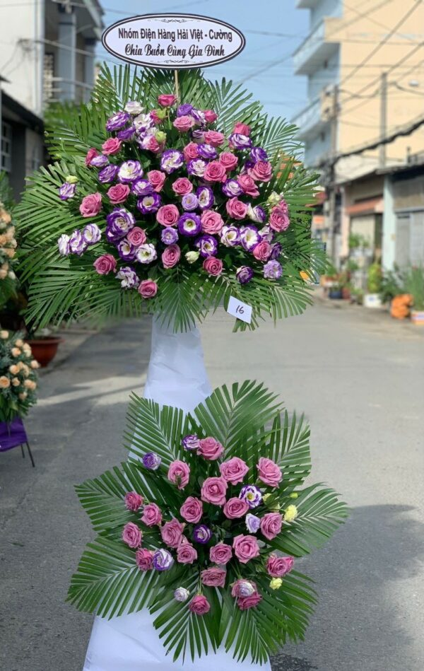 hoa đám tang giồng trôm
