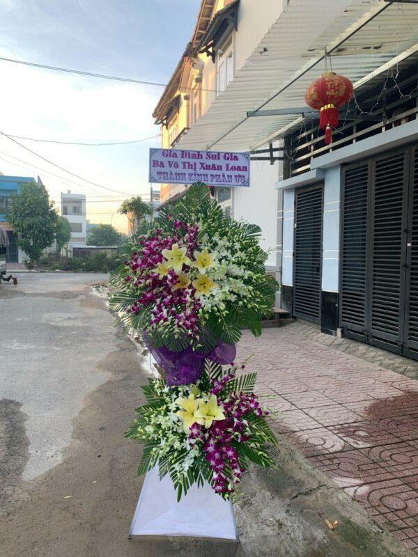 hoa đám tang ngọc hiển