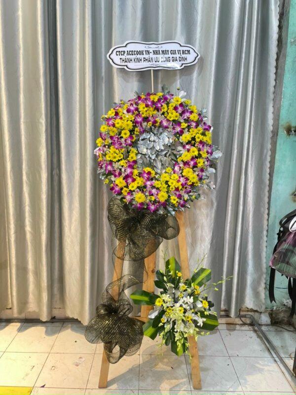 hoa đám tang long phước