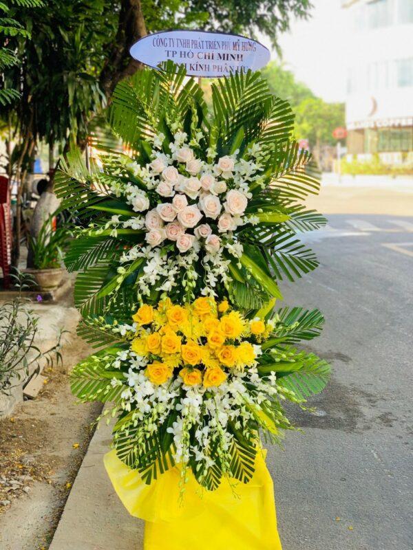 hoa đám tang mộ đức